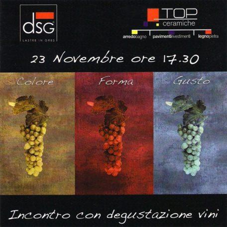 Degustazione vini presso DSG